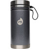 MIZU V5 Insulated Bottle 500 ml Gray Hammer Paint
